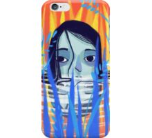 hiding from the sun iPhone Case/Skin
