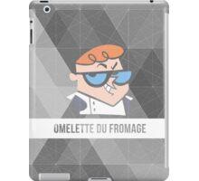 Dexter's Lab Omelette du Fromage iPad Case/Skin