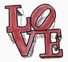 """""""Love"""" Philadelphia by devon rushton"""