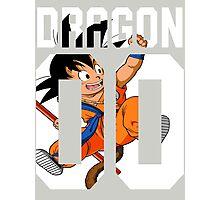 Goku American Style Photographic Print