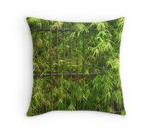 Captivating Green Throw Pillow