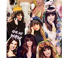lea michele montage so tumblr by Theorgasmic1975