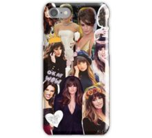 lea michele montage so tumblr iPhone Case/Skin