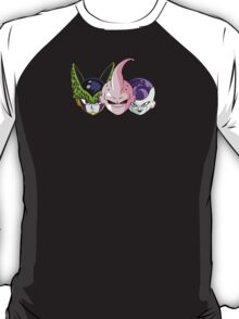 Boo Freezer Cell Faces T-Shirt