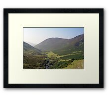 Indy in the Aber Valley Framed Print