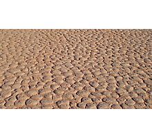 Dont Step on a Crack - Wadi Rum, Jordan Photographic Print