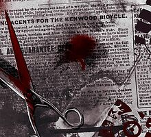 Crime Evidence - Blood and Scissors by Denis Marsili - DDTK