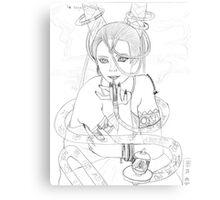 """""""Yu- Kagei's Pipe"""" Canvas Print"""