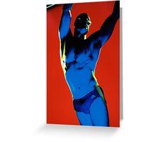 Marvel Men 05 Greeting Card