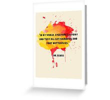 Funny Quote Greeting Card