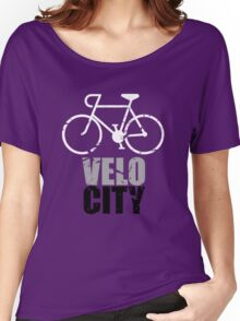 VeloCity Version 4 Extra Urban Cycle Women's Relaxed Fit T-Shirt