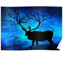 The deer at night... Poster