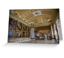 Germany. Potsdam. Sanssouci Picture Gallery. Greeting Card