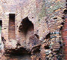 Brickwork, Ashby de la Zouch, Leicestershire by artwhiz47