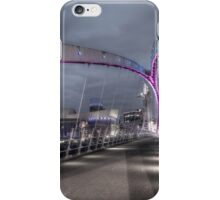 Lowry Bridge Salford Quays iPhone Case/Skin