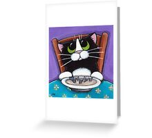 Fish Tail Soup Greeting Card
