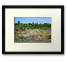 Toyota Tragedy Framed Print
