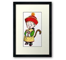 Gohan Kid Framed Print