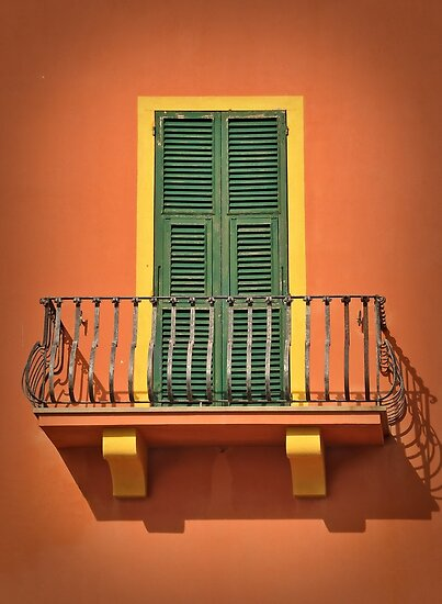 Antique Balcony by Jorge's Photography