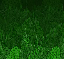 Jungle Pattern by Stacey Muir
