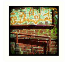 fitzroy alleys Art Print