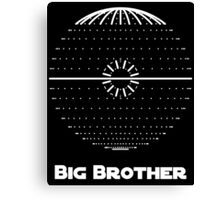"""Big Brother:"" Ruler of the Galaxy Canvas Print"