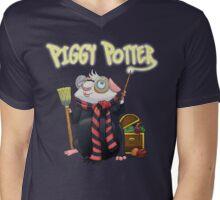 Piggy Potter Mens V-Neck T-Shirt