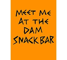 The Dam Snack Bar Photographic Print