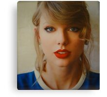 Taylor Swift 1989 Photoshoot Outtake Canvas Print