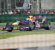 Reb Bull Mark Webber by Ben10