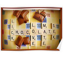 Seductive Chocolate Poster