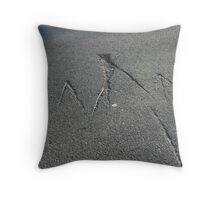 Markings Throw Pillow
