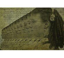 Tintype Girl Photographic Print