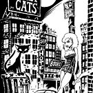 ALLEY CATS - COVER POSTER by NoCashComics