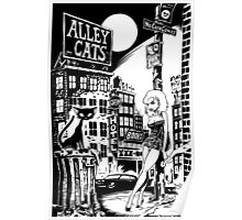 ALLEY CATS - COVER POSTER Poster