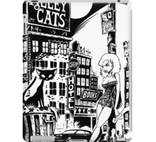 ALLEY CATS - COVER POSTER iPad Case/Skin