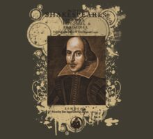Shakespeare First Folio Front Piece by Sally McLean