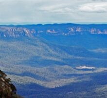 The Blue Mountains Sticker