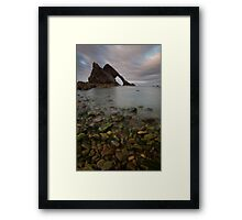 bow and fiddle rock Framed Print
