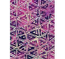 Geometric Triangle Photographic Print