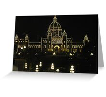 Legislative Lights Greeting Card