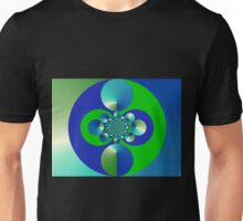 Green and Blue Unisex T-Shirt