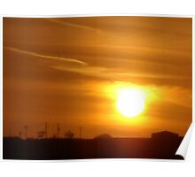 SUNSET OVER CONSANTINE Poster