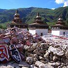 Piles of Prayers by KLiu