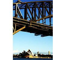 Bridge over Opera House. Photographic Print