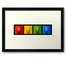 Musical Colors Framed Print
