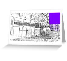 The Link , Parkhill, Sheffield, Uk Greeting Card