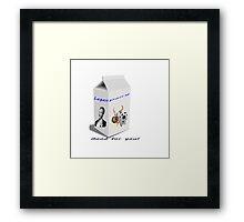 Legen-Dairy Framed Print