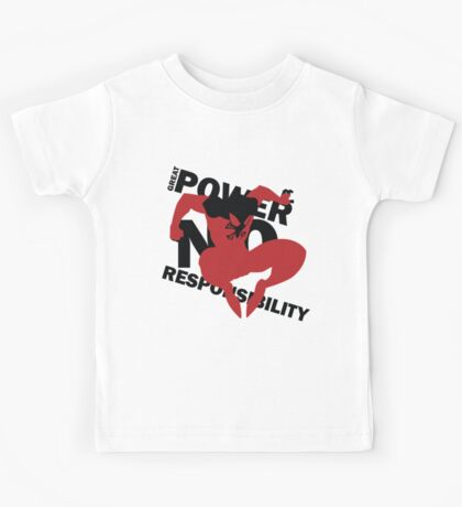 Scarlet Spider – Great power, no responsibility Kids Tee