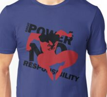 Scarlet Spider – Great power, no responsibility Unisex T-Shirt